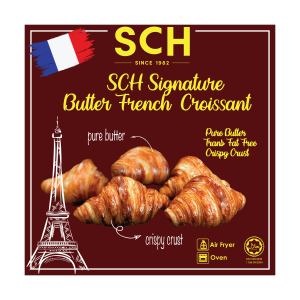SCH Signature Butter French Croissants