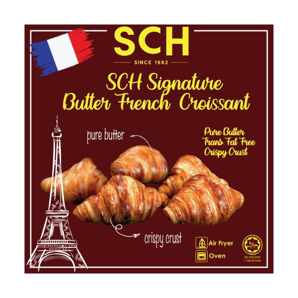 SCH Signature Butter French Croissants