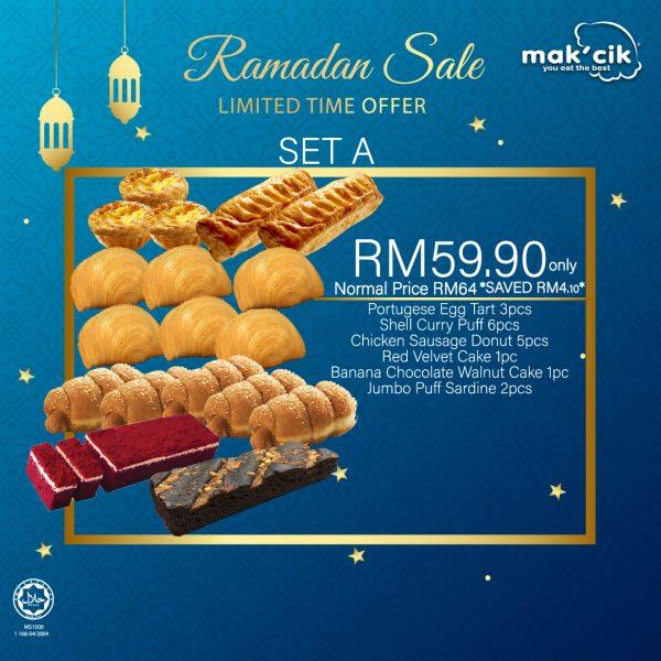 ramadhan blue design Set A